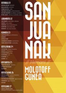 Molotoff-Ttanttakun Sanjuanak 2013 kartela