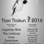 #Ttanttafest16 (eguneratua)