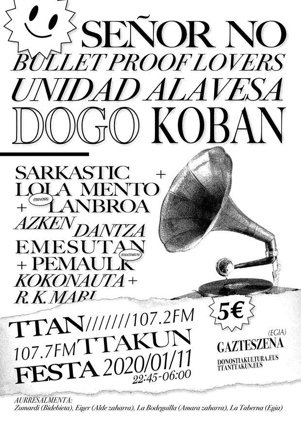 CULTURA ROCKERA 2.0: en Bilbao últimamente las giras no funcionan - Página 18 Ttanttafest2020
